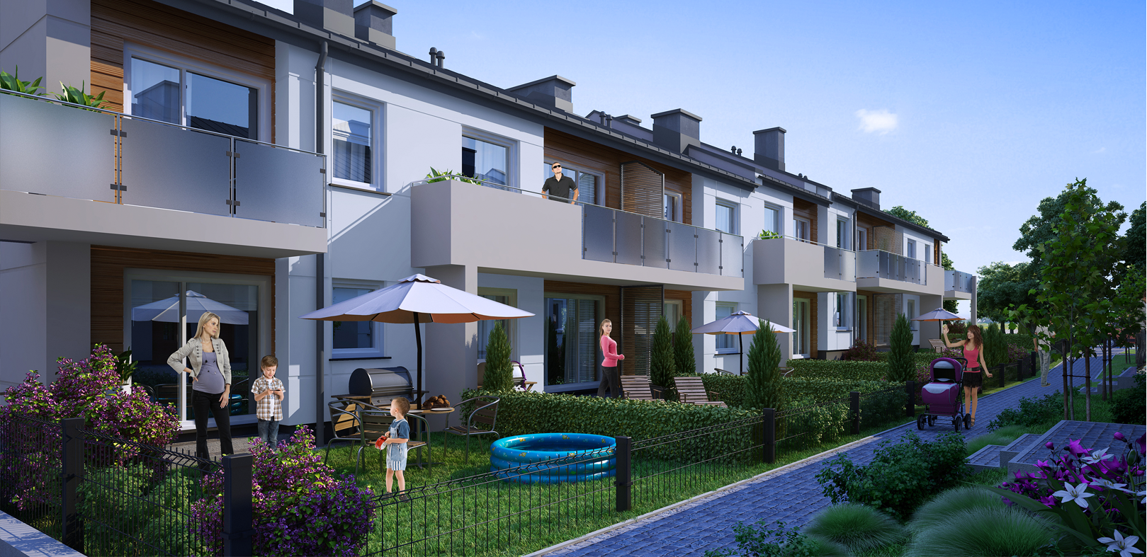Ogród - osiedle domków jednorodzinnych - Kowalowo